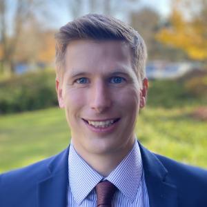 A photo of team member Chris